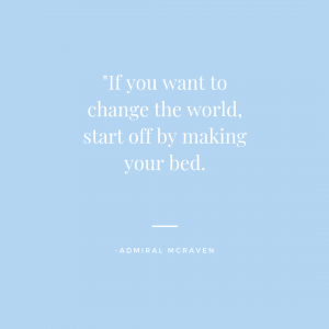 make-your-bed-quote
